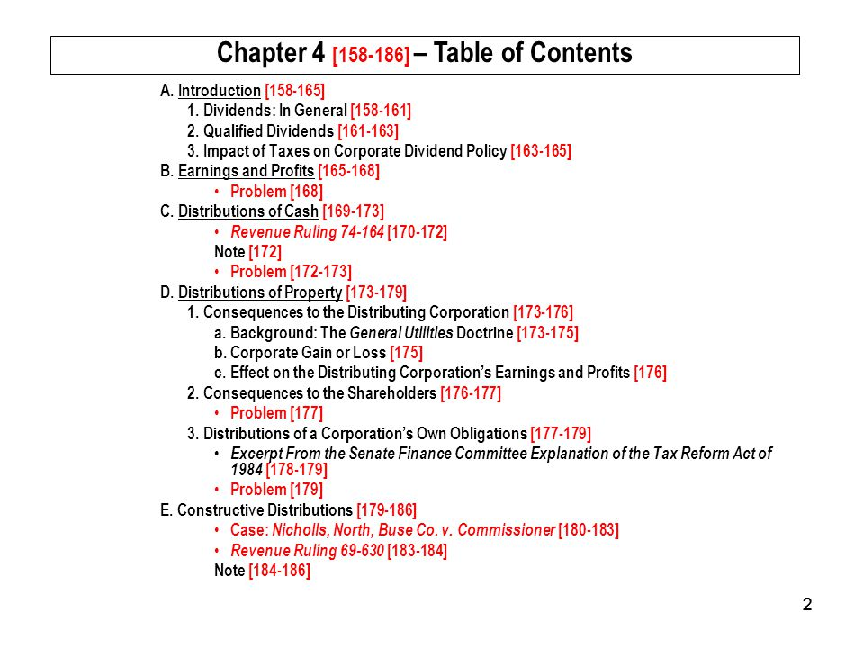 Chapter 4 [158-186] – Table of Contents
